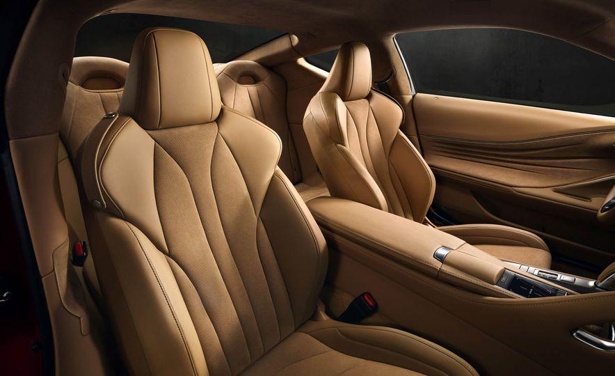 2017 Lexus LC500 - Slide 58
