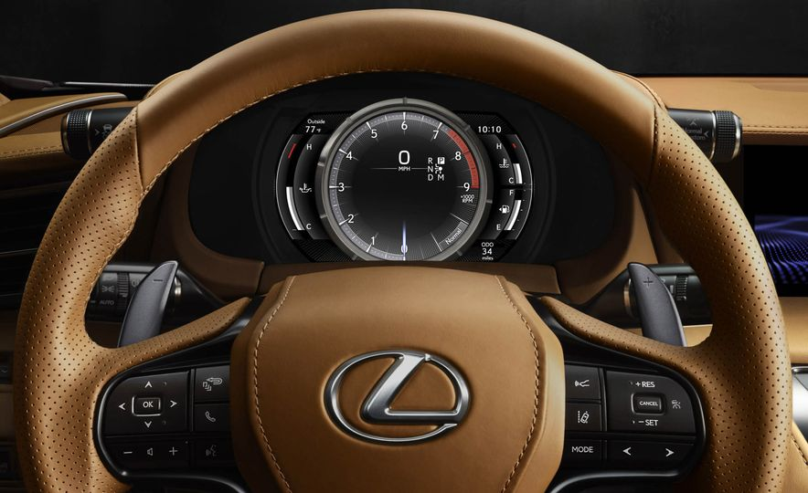2017 Lexus LC500 - Slide 59