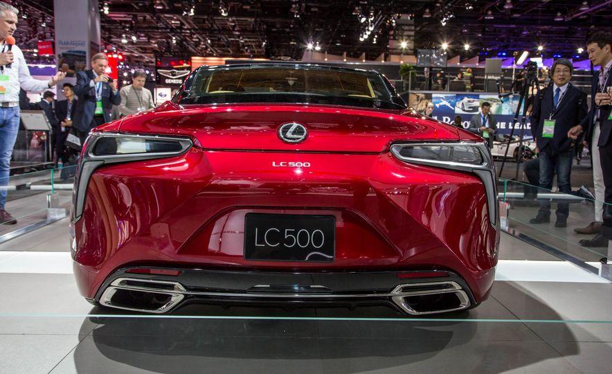 2017 Lexus LC500 - Slide 8