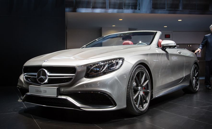 2017 Mercedes-AMG S63 4MATIC cabriolet Edition 130 - Slide 1