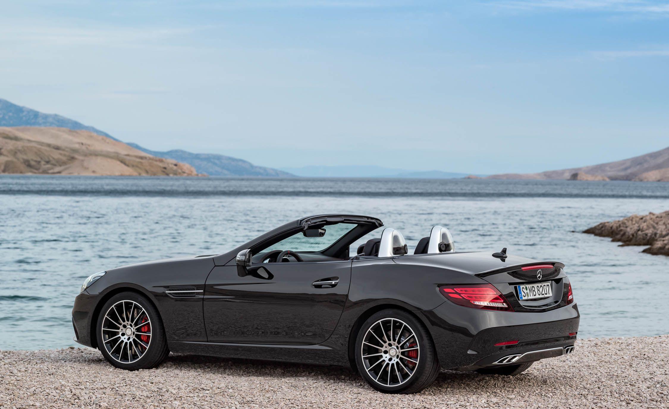 2019 Mercedes Amg Slc43 Reviews Price Photos And Specs Car Driver