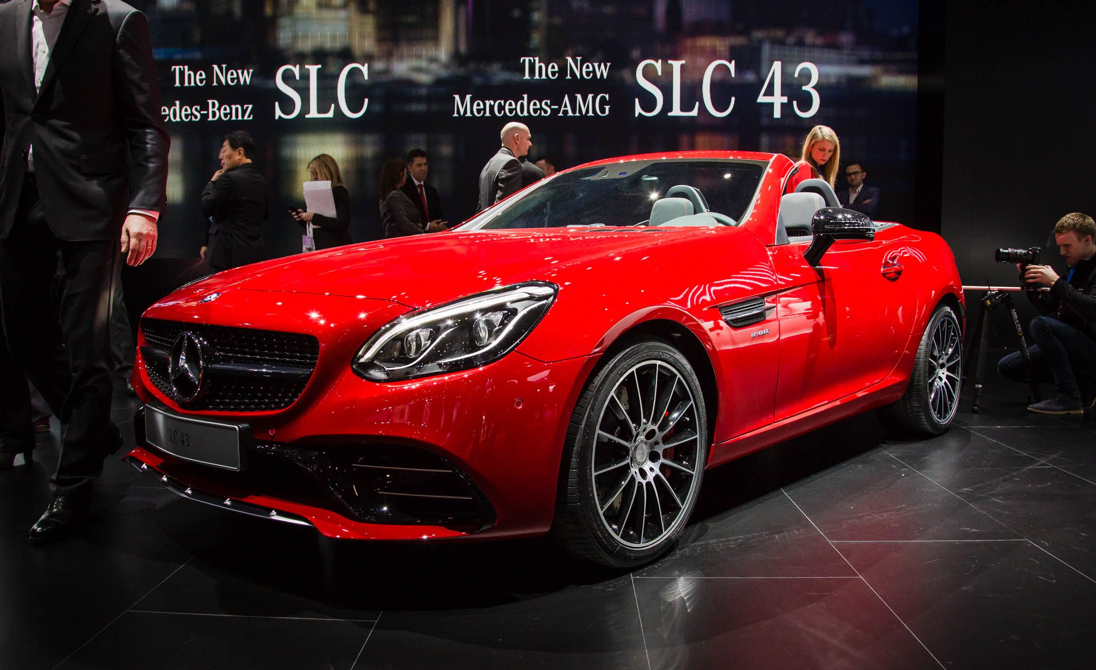 Mercedes Amg Slc43 Reviews Price Photos And Specs Car Driver