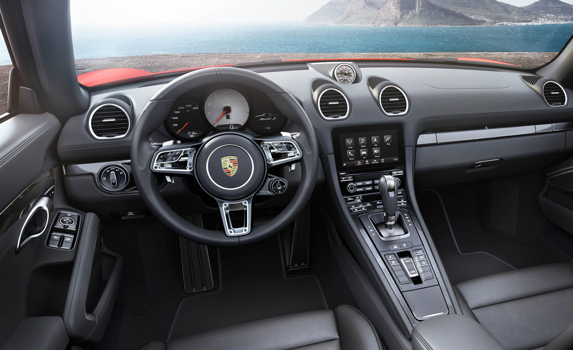 2019 Porsche 718 Boxster Reviews Price Photos 2014 Ford Mustang 3 7 Fuel Filter Location And Specs Car Driver