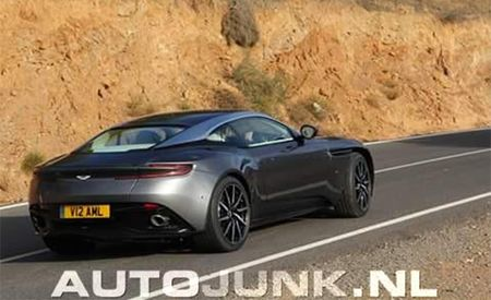 Aston Martin DB11, Is That You? Spy Photo Appears to Capture Aston's Next GT
