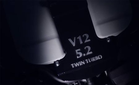 Aston Martin's New V-12 Loses Displacement, Gains Two Turbos