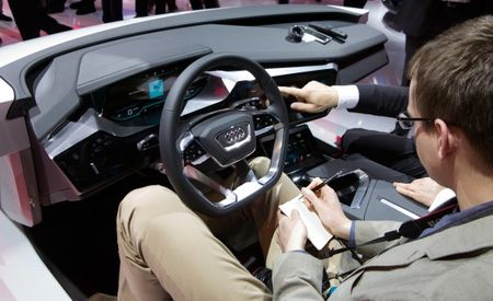 Poking and Prodding Audi's Haptic Touchscreen and Digital Dashboard at CES
