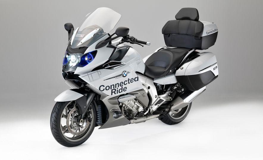 BMW ConnectedRide motorcycle laser light - Slide 2
