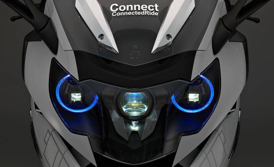 BMW ConnectedRide motorcycle laser light - Slide 8
