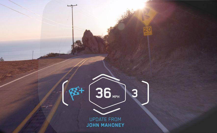 BMW ConnectedRide motorcycle laser light - Slide 20