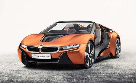 This BMW i8 Spyder Won't Be Built, But Its Tech Is Undeniably Cool