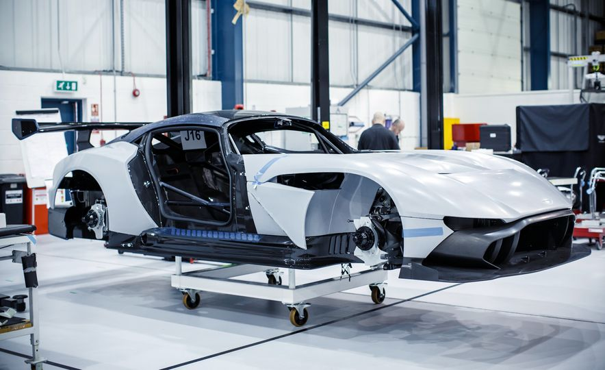 Behind the Scenes at Aston Martin's Frankenstein Lab for Special Projects - Slide 1
