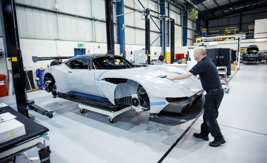 Behind the Scenes at Aston Martin's Frankenstein Lab for Special Projects - Slide 2