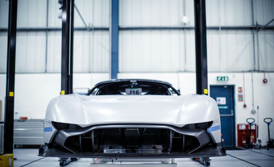 Behind the Scenes at Aston Martin's Frankenstein Lab for Special Projects - Slide 3