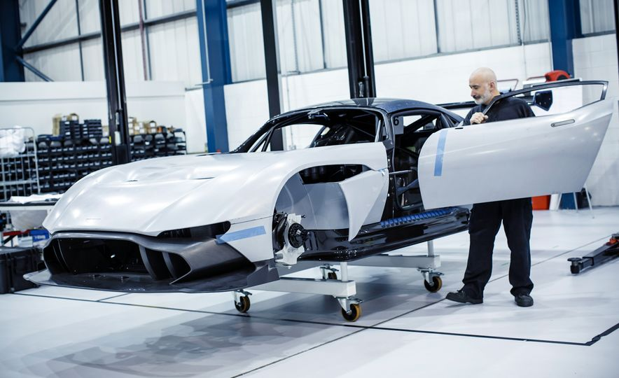 Behind the Scenes at Aston Martin's Frankenstein Lab for Special Projects - Slide 4