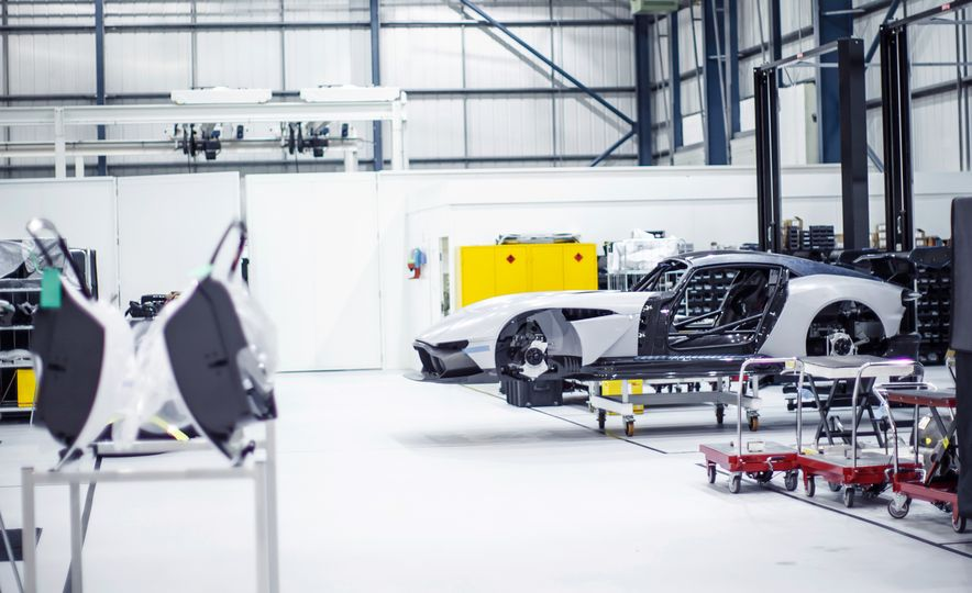 Behind the Scenes at Aston Martin's Frankenstein Lab for Special Projects - Slide 5