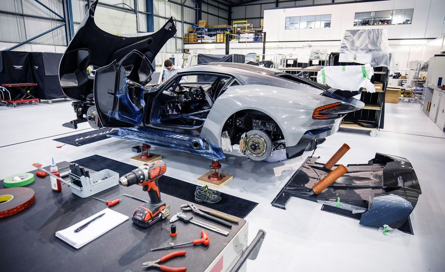 Behind the Scenes at Aston Martin's Frankenstein Lab for Special Projects - Slide 6