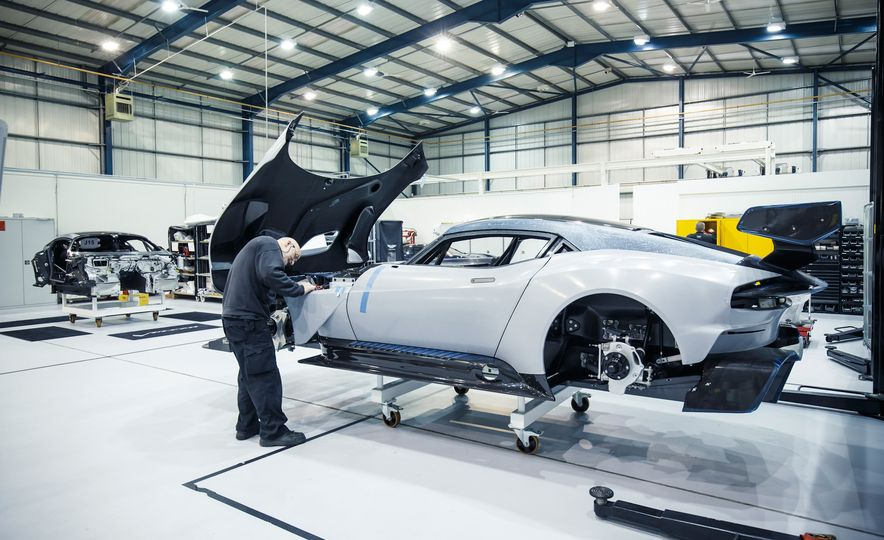 Behind the Scenes at Aston Martin's Frankenstein Lab for Special Projects - Slide 7