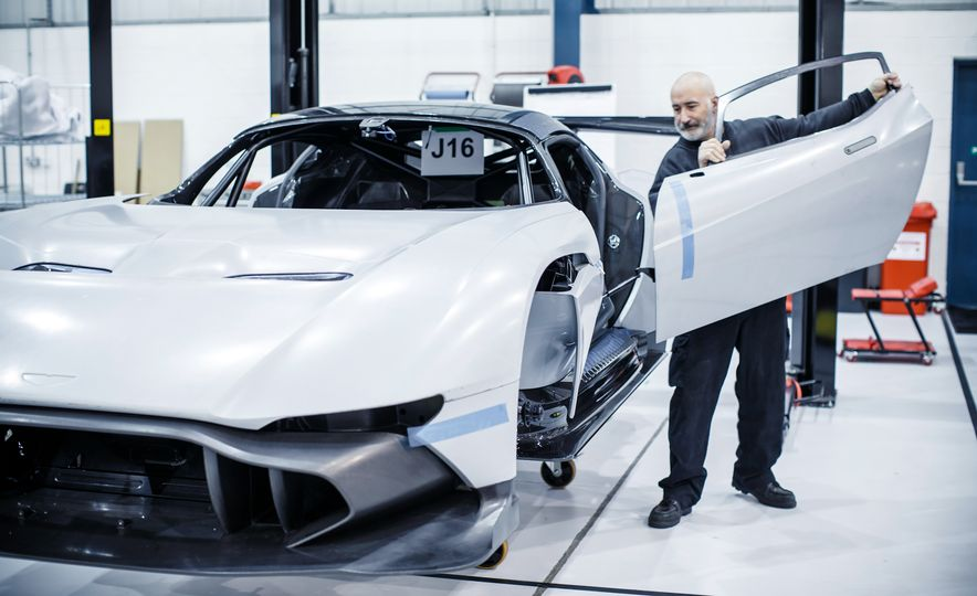 Behind the Scenes at Aston Martin's Frankenstein Lab for Special Projects - Slide 10
