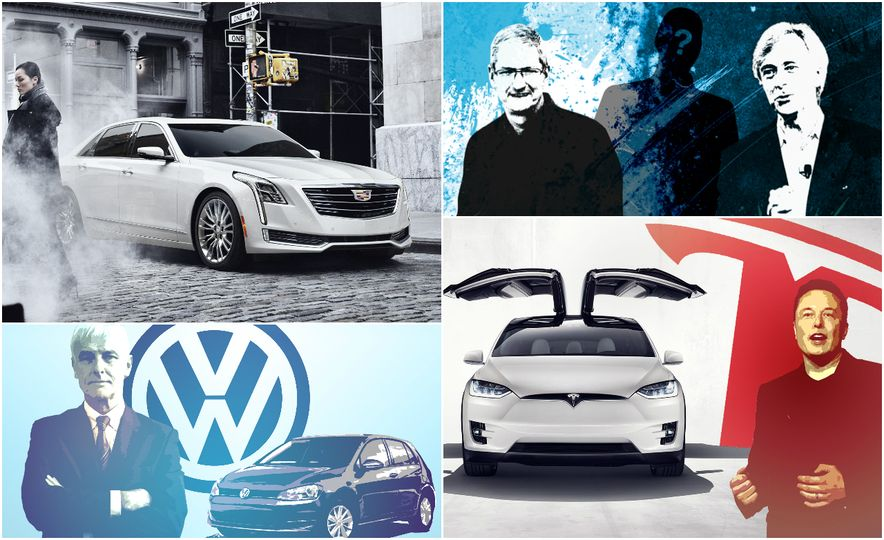 The Five Automotive Brands to Watch in 2016 - Slide 1