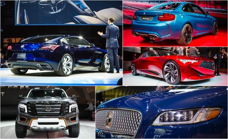 The 12 Cars You Must See from the 2016 Detroit Auto Show