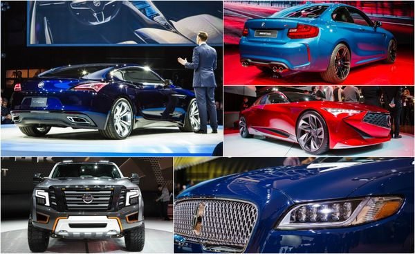 The 12 Cars You Must See From 2016 Detroit Auto Show