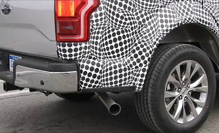 Aluma-Diesel: Ford F-150 Pickup Spied Rolling Under Diesel Power [Video]