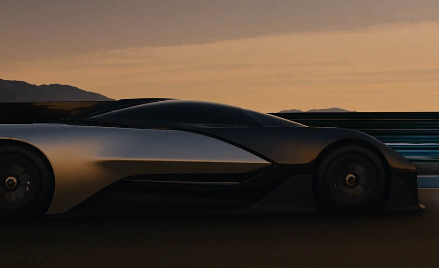 Faraday Future FFZERO1 concept - Slide 12