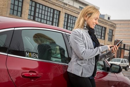 That's So Maven! GM Debuts New Car-Sharing Service