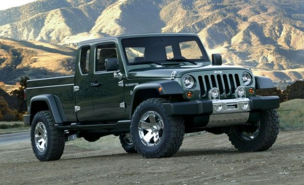 It's Official: Jeep Wrangler Pickup Is Coming in 2017