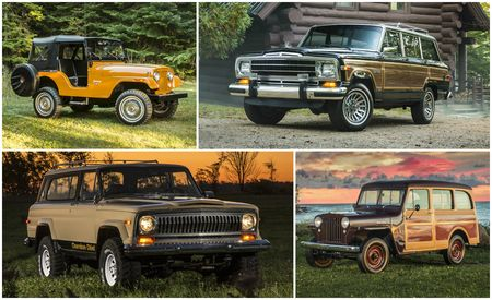 Nothing More, Nothing Less: Sweet Photos of Old Jeeps!