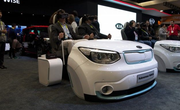 Kia Shoots Us In the Face Demonstrating Autonomous Soul EV's Capabilities