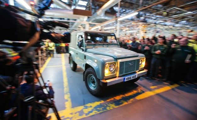 The Long, Long Goodbye: Final Land Rover Defender Rolls Off the Line