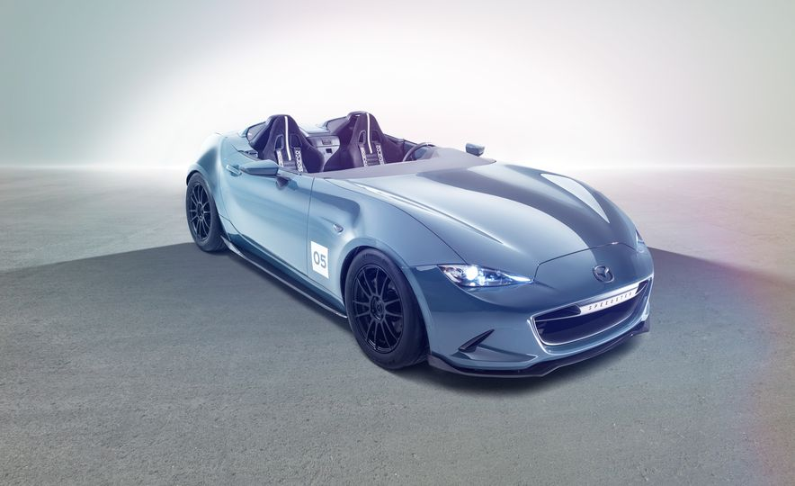 Mazda Miata Spyder concept and Mazda Miata Speedster concept - Slide 2