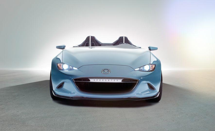 Mazda Miata Spyder concept and Mazda Miata Speedster concept - Slide 3