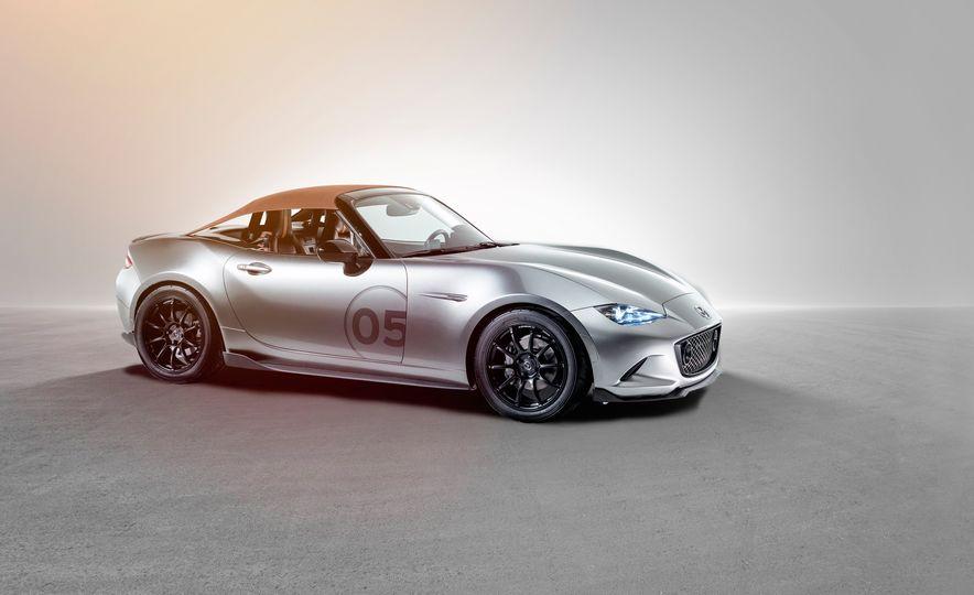 Mazda Miata Spyder concept and Mazda Miata Speedster concept - Slide 8