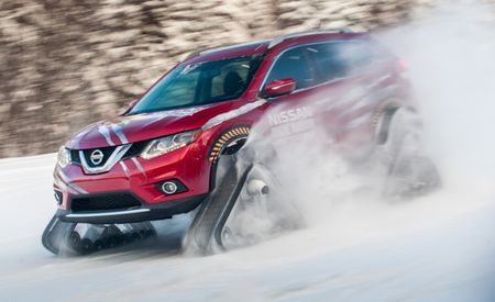 Nissan Builds Tracked Rogue, Instantly Makes Its Mainstream Crossover Cool