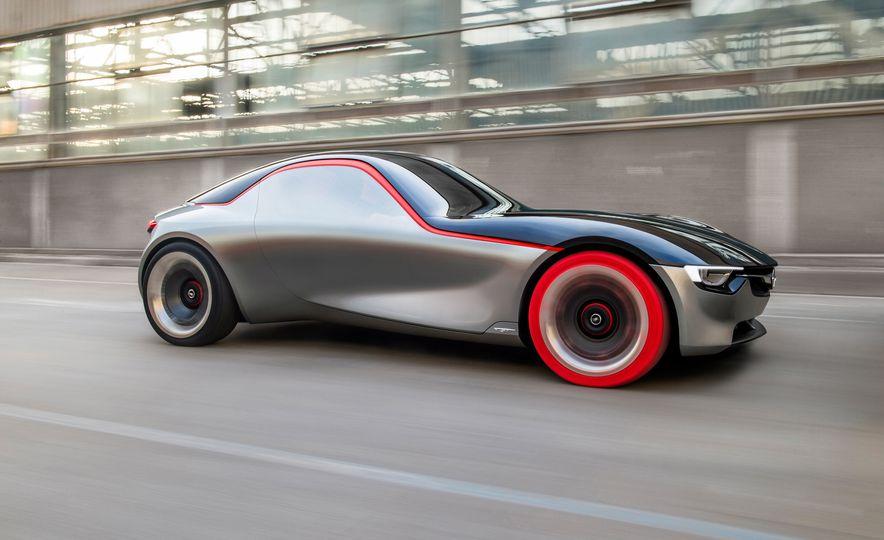 Opel GT concept - Slide 21