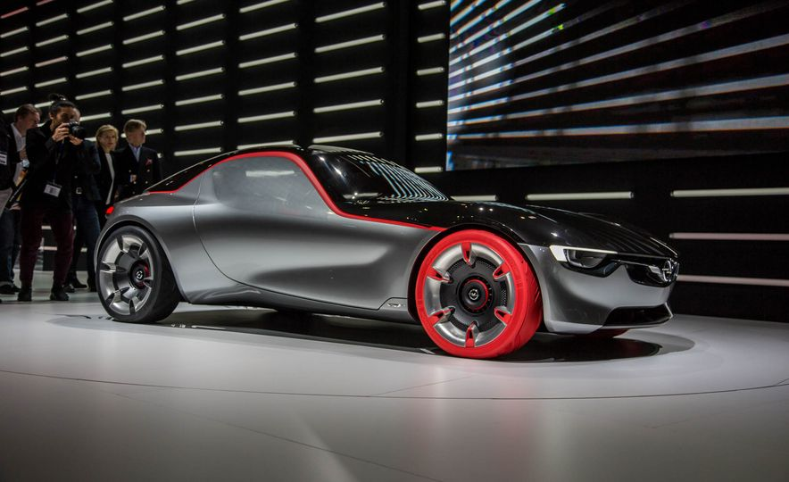 Opel GT concept - Slide 1