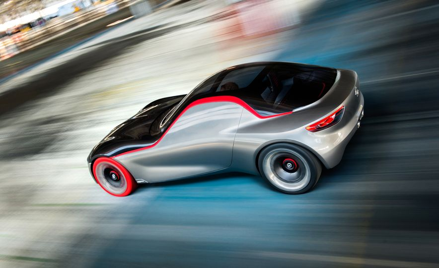Opel GT concept - Slide 24
