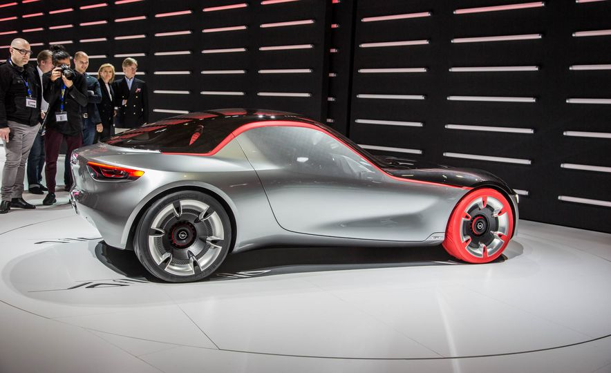 Opel GT concept - Slide 12
