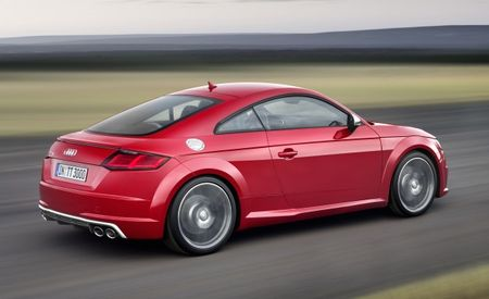 Audi TT RS to Get New All-Aluminum Turbo Five-Cylinder, OLED Taillights