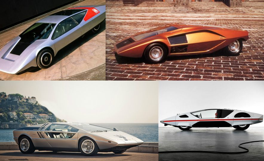 Doorstop Believin': 27 Incredible Concept Cars of the Wedge Era - Slide 1