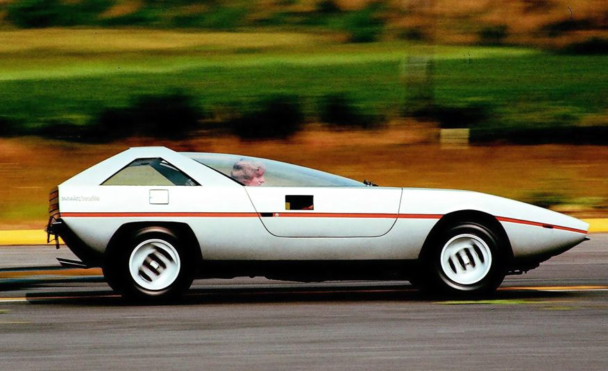 Doorstop Believin': 27 Incredible Concept Cars of the Wedge Era - Slide 22