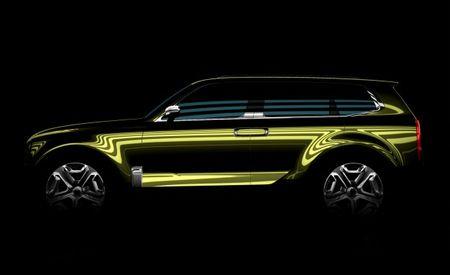 Kia Teases Full-Size Telluride SUV Concept—It's Embiggening! Enhealening! Enwellening!