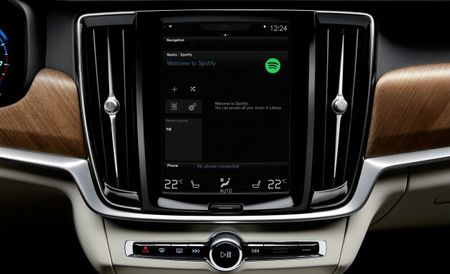 Volvo Adds Native Spotify Support to Its Product Line Globally