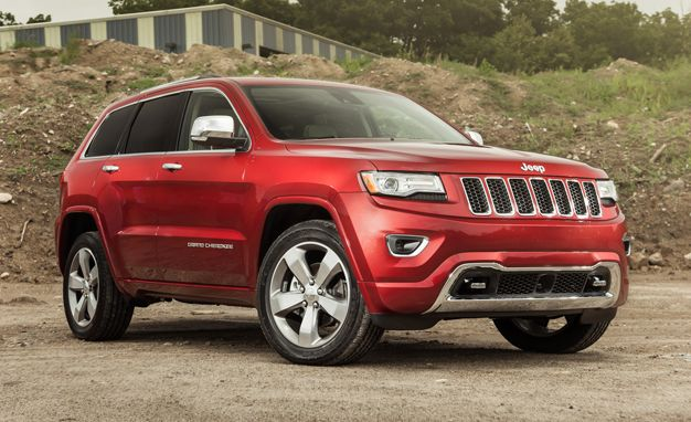 Awesome Red Jeep Grand Cherokee 2015