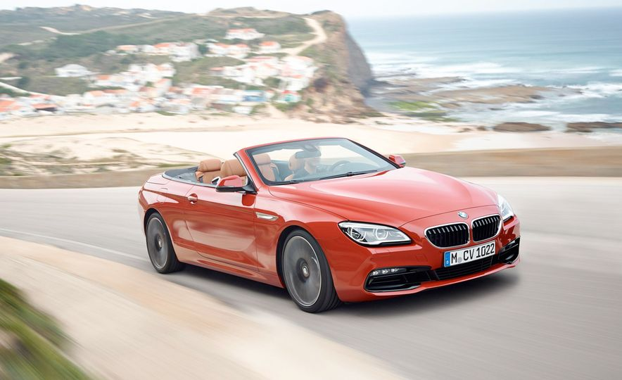 2016 BMW 640i convertible - Slide 1