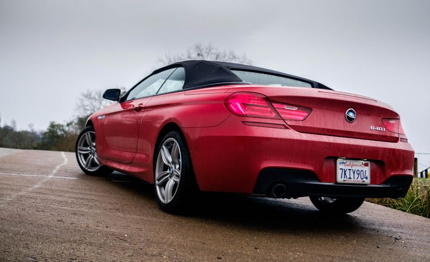 2016 BMW 640i convertible - Slide 9
