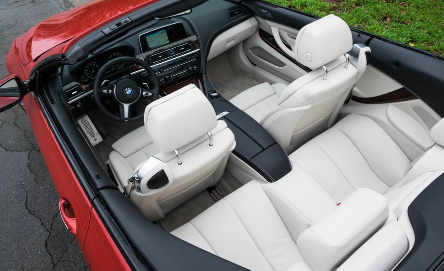 2016 BMW 640i convertible - Slide 12