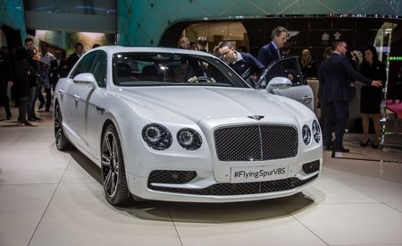 190-mph Four-Door: Bentley Flying Spur V-8 S Joins the Party